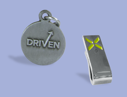 Silver Manager Charm 4