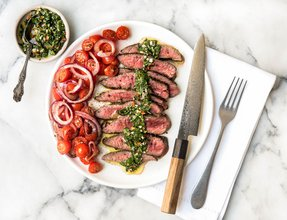 System recipes steak chimichurri with tomato salad forumfinder Gallery