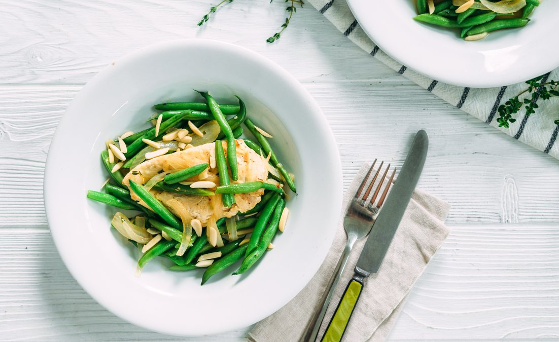 Chicken with Green Beans