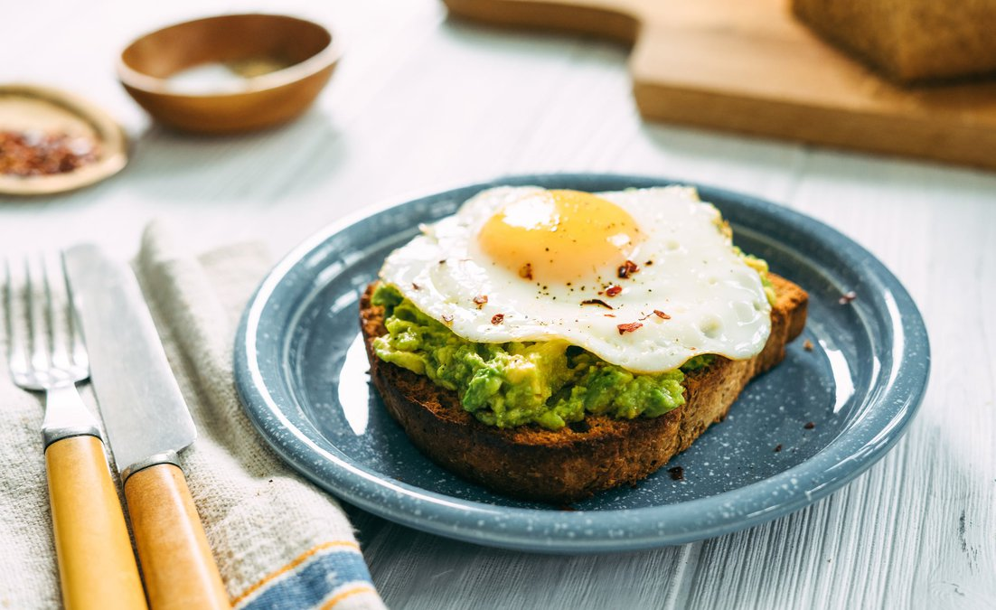 Egg & Avocado ToastTEST