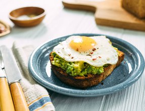 Egg & Avocado ToastTEST