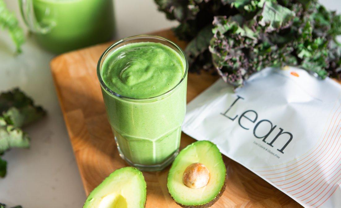 lean green protein smoothie